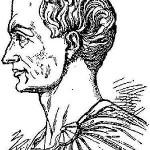 English: Portrait of Julius Caesar